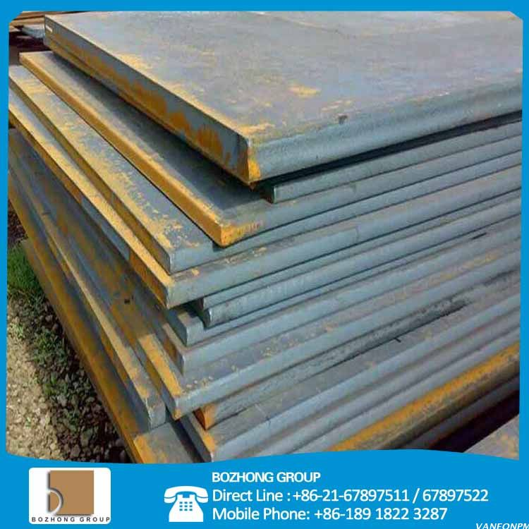 Fine-grain boiler and pressure vessel steel plate