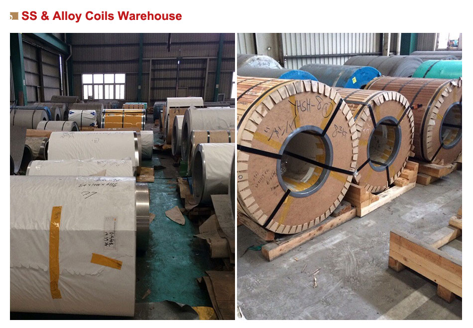 ss & alloy coils warehouse